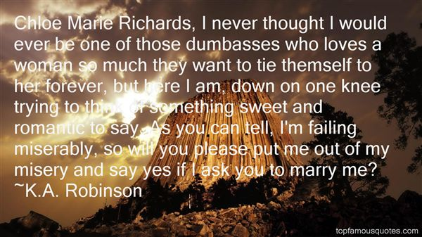 K.A. Robinson Quotes