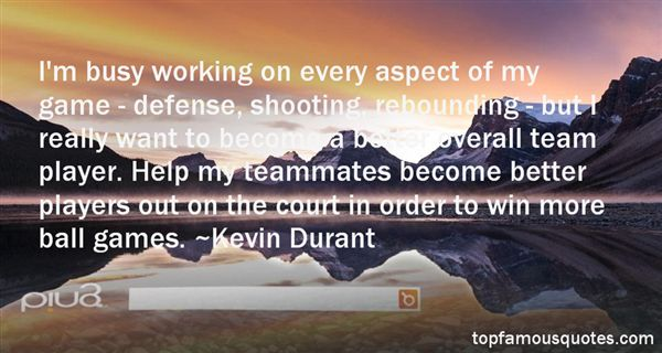 Kevin Durant Quotes