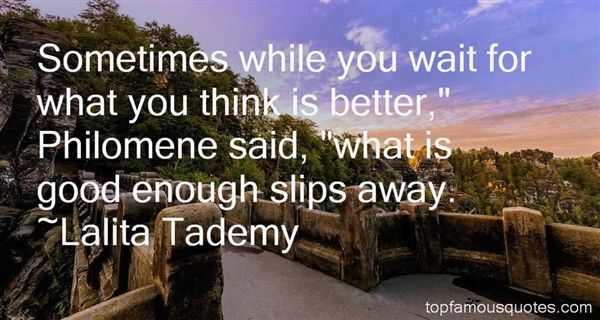 Lalita Tademy Quotes