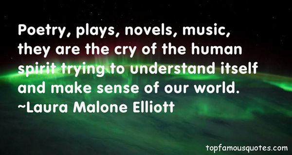 Laura Malone Elliott Quotes
