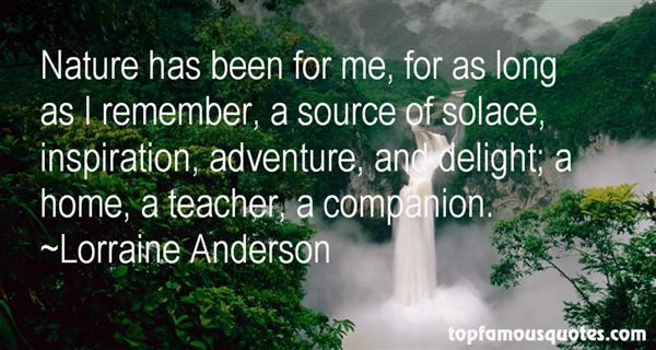 Lorraine Anderson Quotes