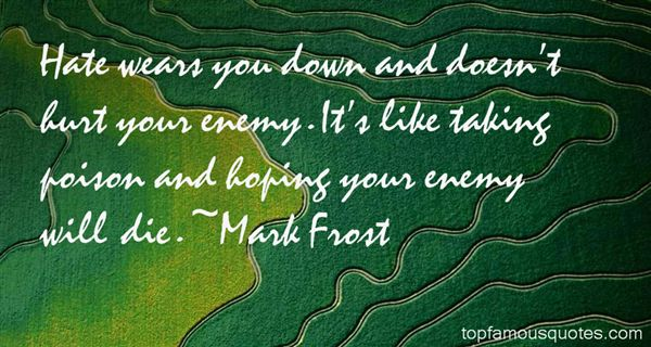 Mark Frost Quotes