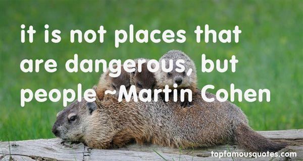 Martin Cohen Quotes