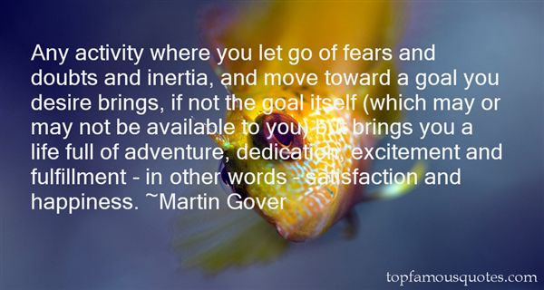 Martin Gover Quotes