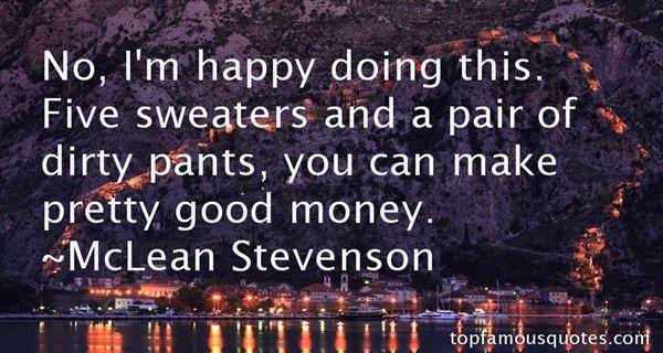 McLean Stevenson Quotes