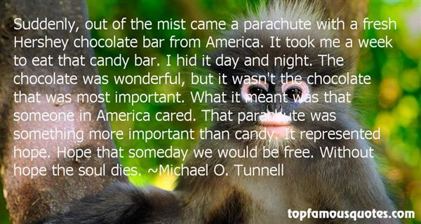 Michael O. Tunnell Quotes
