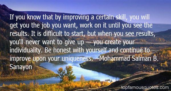 Mohammad Salman B. Sanayon Quotes
