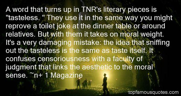 N+ 1 Magazine Quotes