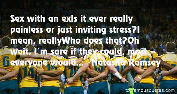 Natasha Ramsey Quotes