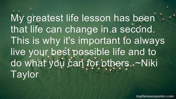 Niki Taylor Quotes