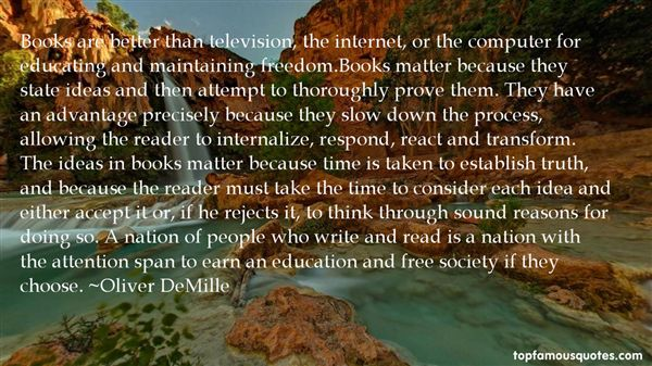 Oliver DeMille Quotes