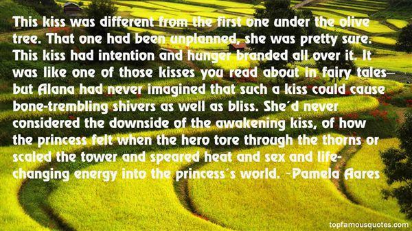 Pamela Aares Quotes