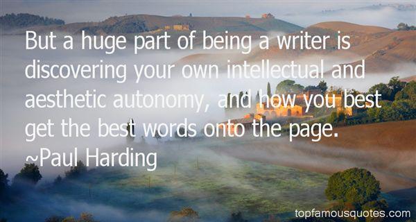 Paul Harding Quotes