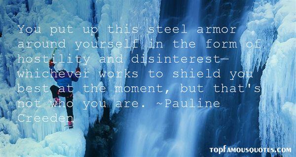 Pauline Creeden Quotes