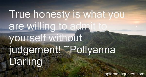 Pollyanna Darling Quotes