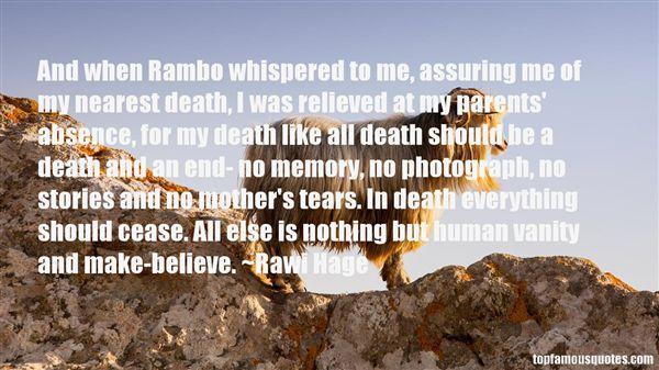 Rawi Hage Quotes