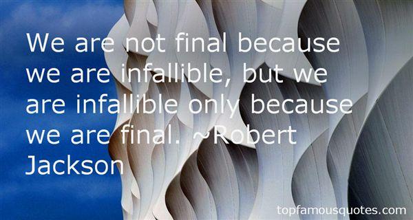 Robert Jackson Quotes