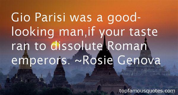 Rosie Genova Quotes
