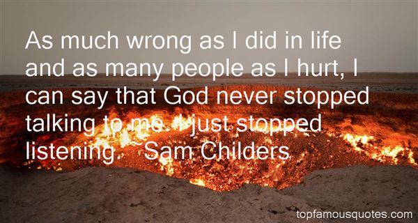 Sam Childers Quotes