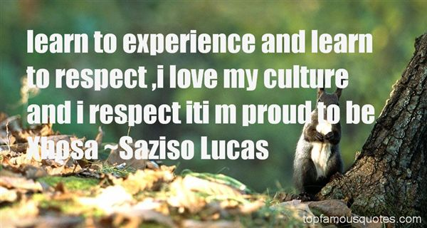 Saziso Lucas Quotes
