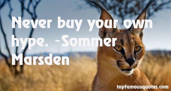 Sommer Marsden Quotes