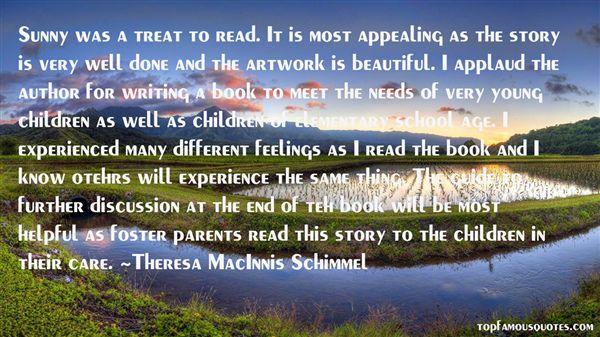 Theresa MacInnis Schimmel Quotes