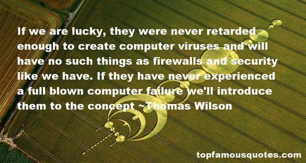 Thomas Wilson Quotes