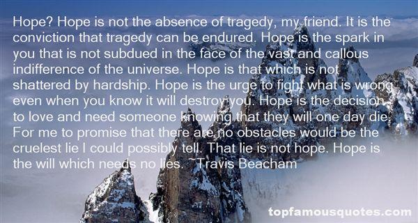 Travis Beacham Quotes