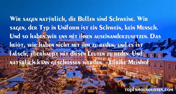 Ulrike Meinhof Quotes