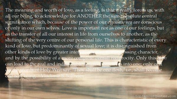 Vladimir S. Soloviev Quotes