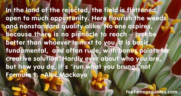 Alec Mackaye Quotes
