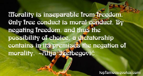 Alija Izetbegovic Quotes