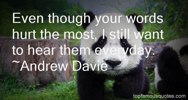Andrew Davie Quotes