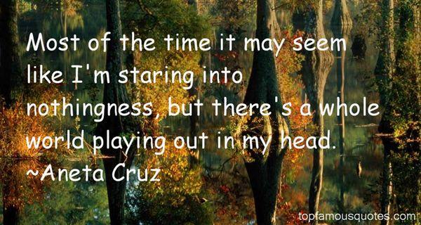 Aneta Cruz Quotes