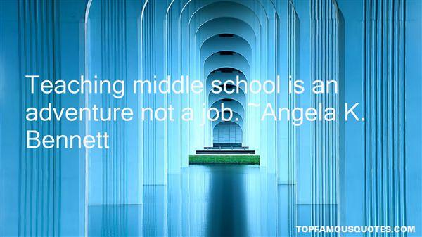 Angela K. Bennett Quotes