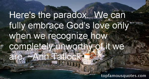 Ann Tatlock Quotes