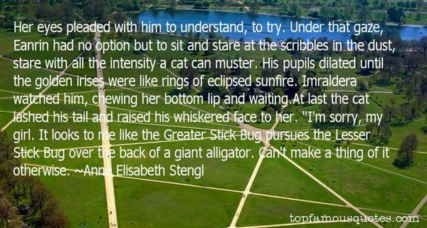Anne Elisabeth Stengl Quotes