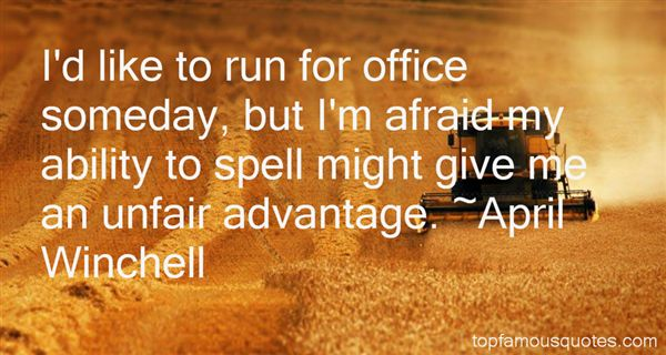 April Winchell Quotes