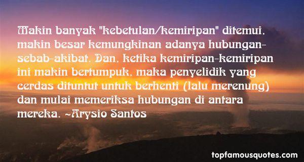 Arysio Santos Quotes