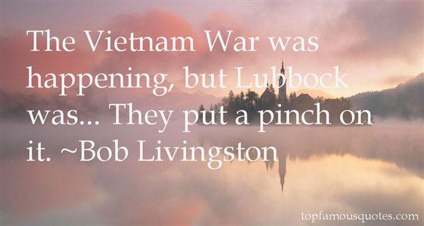 Bob Livingston Quotes