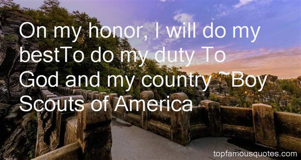 Boy Scouts Of America Quotes