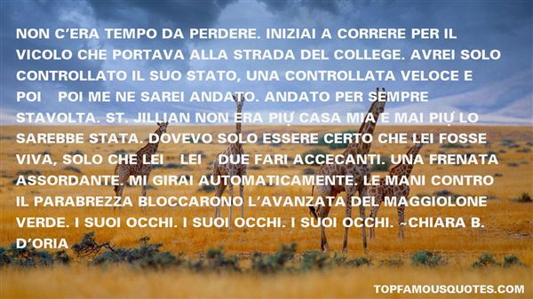 Chiara B. D'Oria Quotes