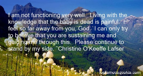 Christine O'Keeffe Lafser Quotes