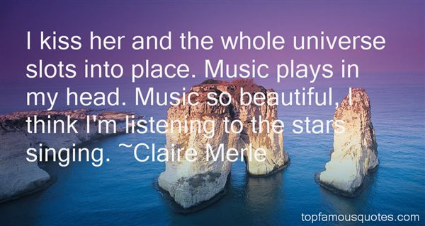 Claire Merle Quotes