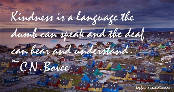 C.N. Bovee Quotes