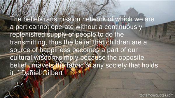 Daniel Gilbert Quotes