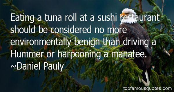 Daniel Pauly Quotes