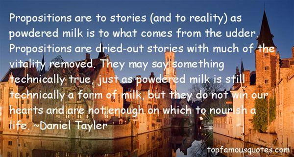 Daniel Tayler Quotes