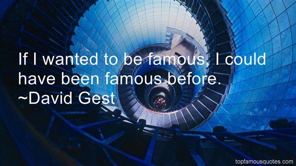 David Gest Quotes