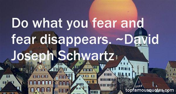 David Joseph Schwartz Quotes
